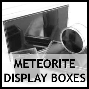 Meteorite display boxes
