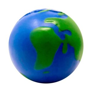 Stress ball earth
