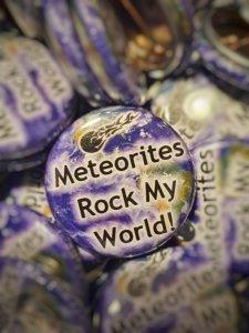 Badge meteorites rock my world 1