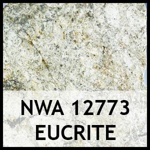 Nwa 12773 eucrite