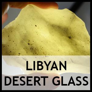 Libyan desert glass 1