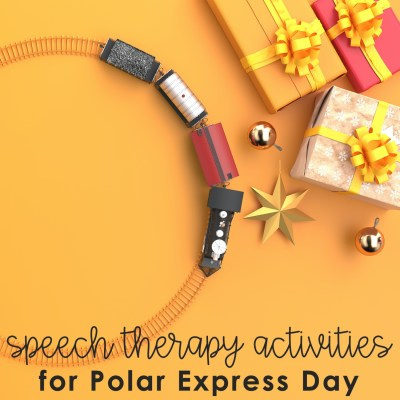 Polar Express Day in Speech Therapy