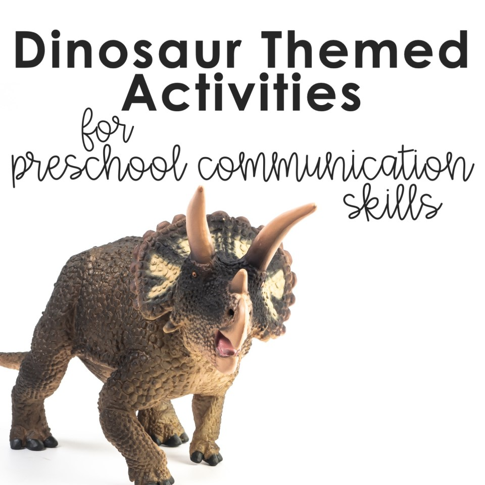 dinosaur theme activities for preschool