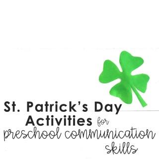 st-patricks-day-activities-for-preschoolers St. Patrick's Day Activities for Preschoolers