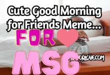 Good Morning for Friends Meme