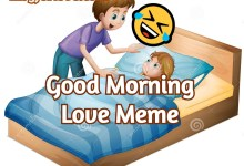 good morning love meme
