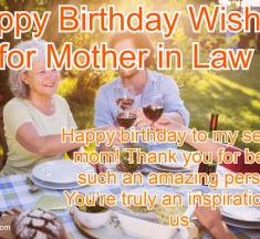 Funny Happy Birthday Wishes for Mother in Law