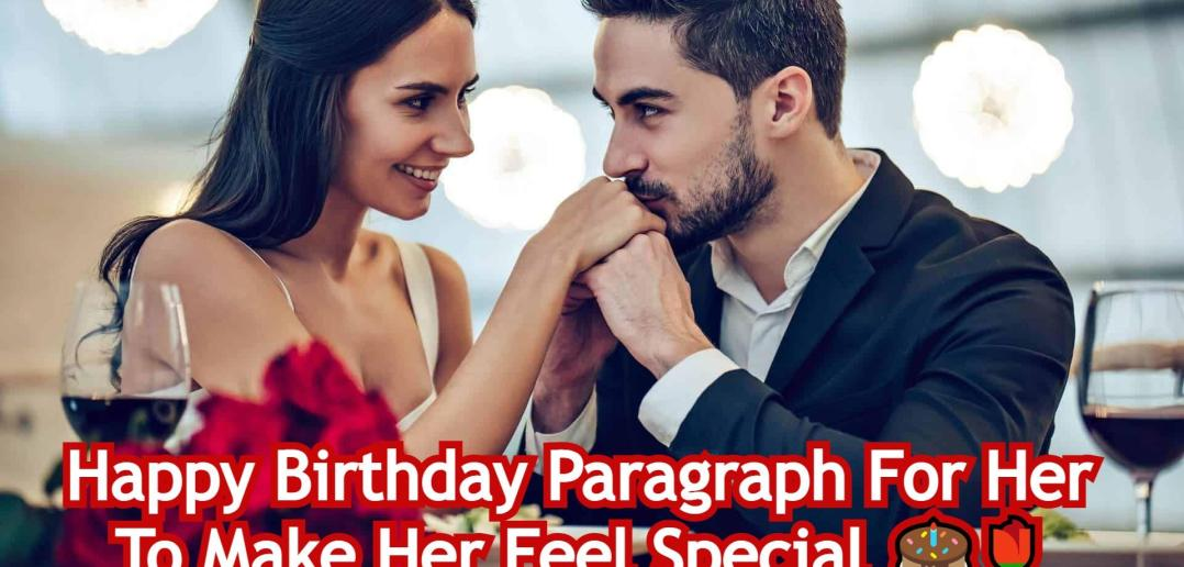 Birthday Paragraph For Her