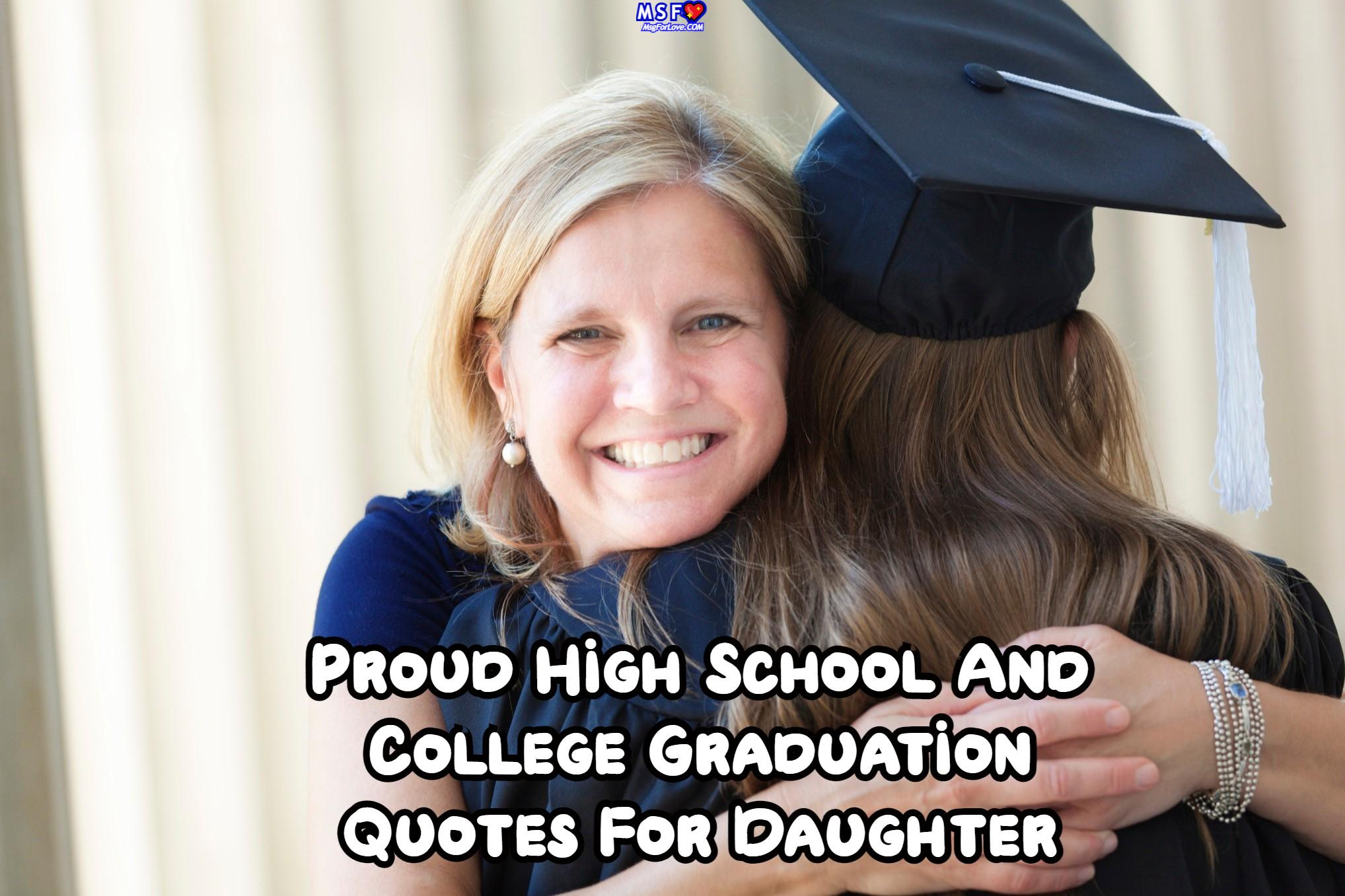 Graduation Quotes For Daughter
