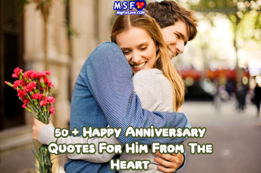 Anniversary Quotes For Him