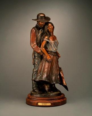 Mi Corazon - Kliewer Bronze Western Art Sculpture at Mountain Spirit Gallery in Prescott, Arizona
