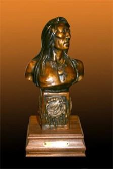 Good Medicine - Kliewer Cow Girl Up Artist Bronze Western Sculpture at Mountain Spirit Gallery in Prescott, Arizona