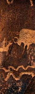 Bison Hunt Petroglyph