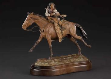Kwahadi Comanche He Who Fights - Bill Nebeker