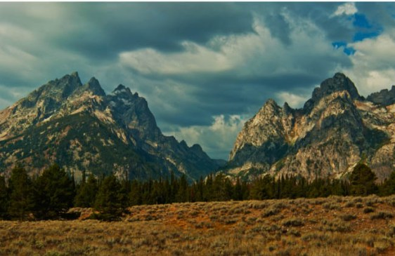 MOUNTAIN VIEW TETONS