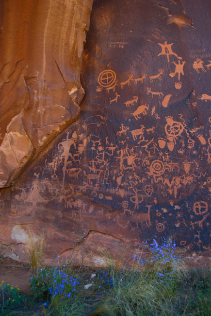 VERTICAL NEWSPAPER ROCK