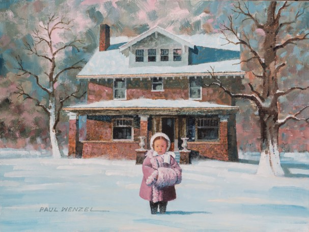Winter Time - Oil 11X14 $1000.00