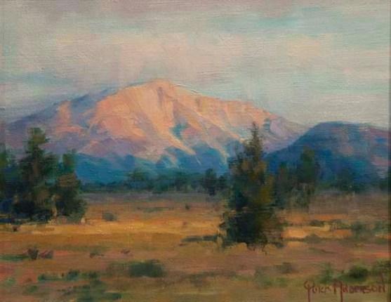 Mt. Sopris Oil 8X10 Sold