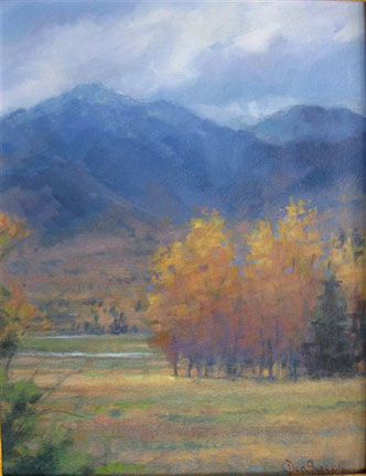 Too Early For Snow Oil 14X18 $1100.00 SOLD
