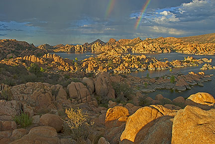 Watson Lake Rainbow