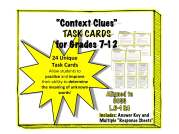"Strengthen your students ""context clues"" skills!"