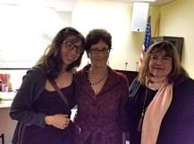 AAC member Maren Less, Cheryl Bernstein, Mayor, and Laraine Barach, AAC Chair