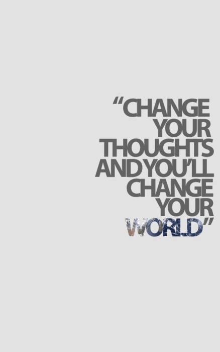 """How to Create a Sustainable Healthy Lifestyle - """"Change your thoughts and you'll change your world"""""""