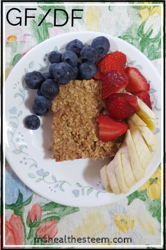 Breakfast Oat Cakes - Simple, Filling, Delicious, Gluten Free, Dairy Free, Vegetarian (Easy Switch from Honey to Maple Syrup for Vegan