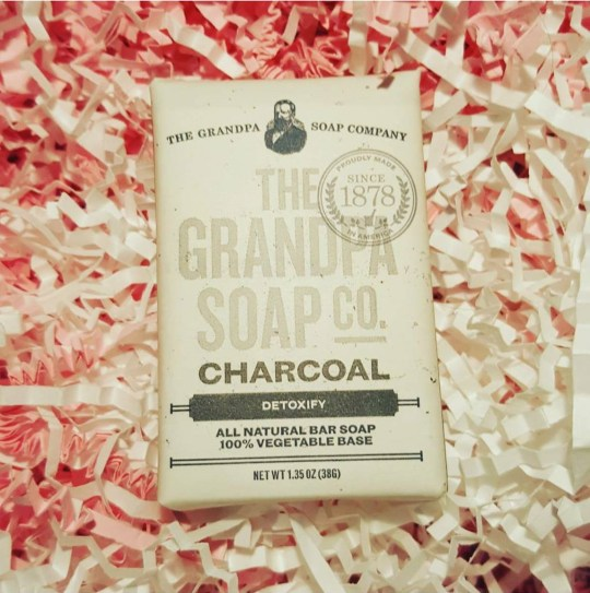 ChronicAlly Box - The Monthly Must Have Subscription Box-grampas soap co face and body charcoal soap