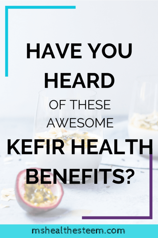 Have You Heard Of These Awesome Kefir Health Benefits? | Many of us know that we need fermented foods for gut health. But there's so much more. Fermentid foods like Kefir benefit your microbiome, digestive and immune health, mental well-being and overall wellness. Let's talk about it. Click through for the goodness! #fermentedfoods #digestivehealth #healthydiet