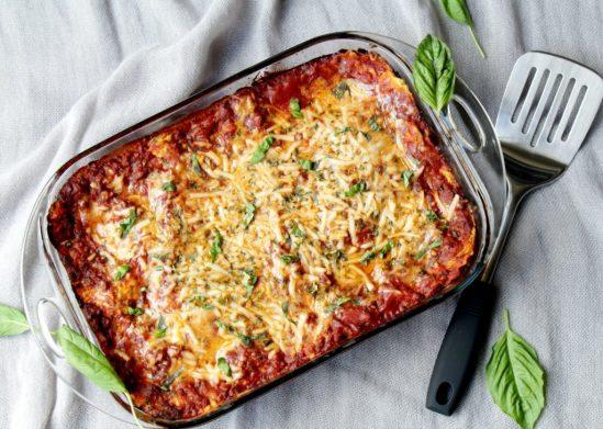 Health-Esteem Queen Alethea Todaro Delicious Vegan Lasagna