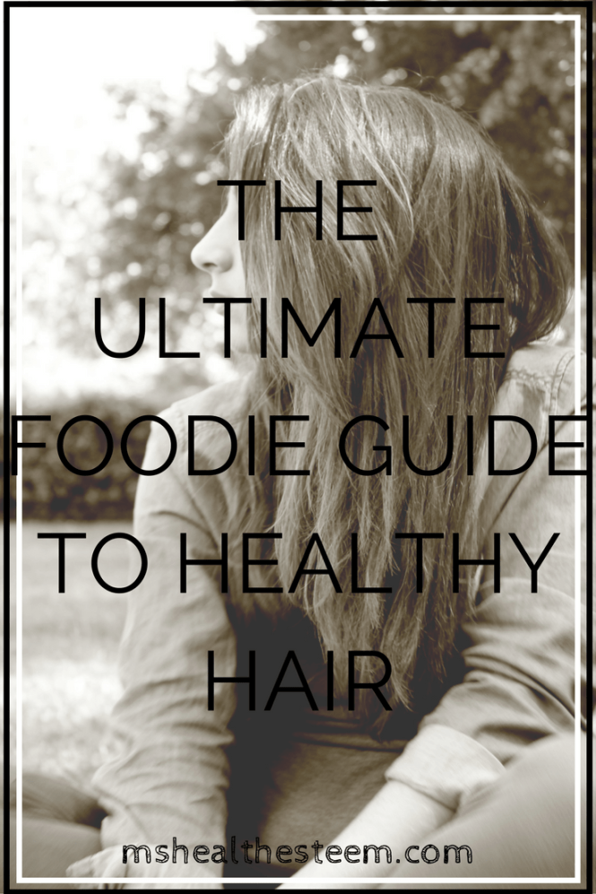 The Ultimate Foodie Guide to Healthy Hair - What you eat can be the difference between dull, thin, brittle locks, or gorgeous, shiny, thick tresses. Here are the best foods for healthy hair!