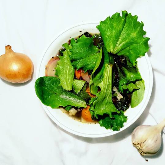 Eat this when you take Antibiotics - Soup with Miso