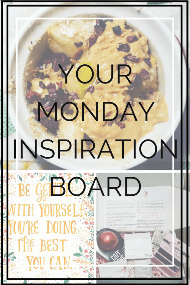 Monday Inspiration Board at mshealthesteem.com