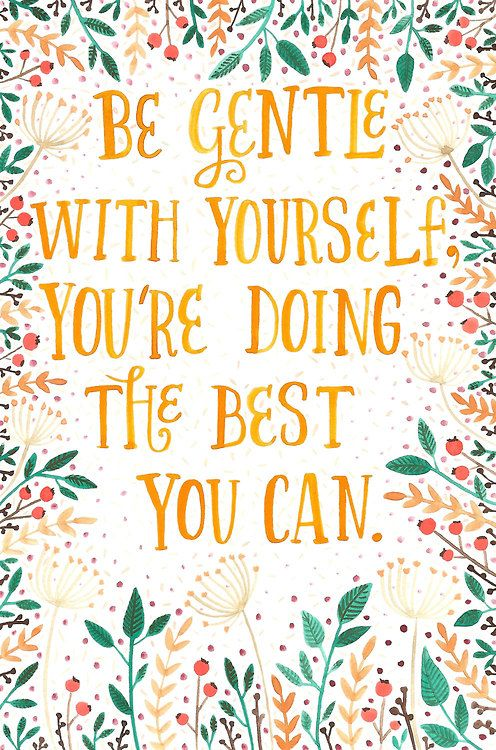 You're Doing the Best You Can - Inspirational Quote, Monday Inspiration Board