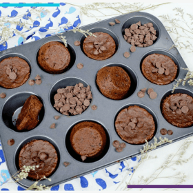 These Healthy Gluten Free Vegan Brownies Taste Like Magic | These homemade brownies are the perfect addition to a healthy diet, featuring healthy ingredients like raw cacao powder, semi sweet chocolate chips and gluten free oat flour. Plus we'll talk about why chocolate is healthy! Click through for the super simple healthy dessert recipe. #vegandessert #glutenfree #dairyfree #healthyeating