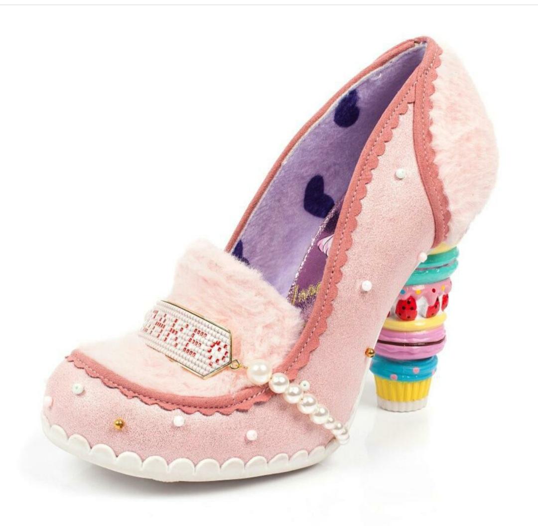 Irregular choice cake heel
