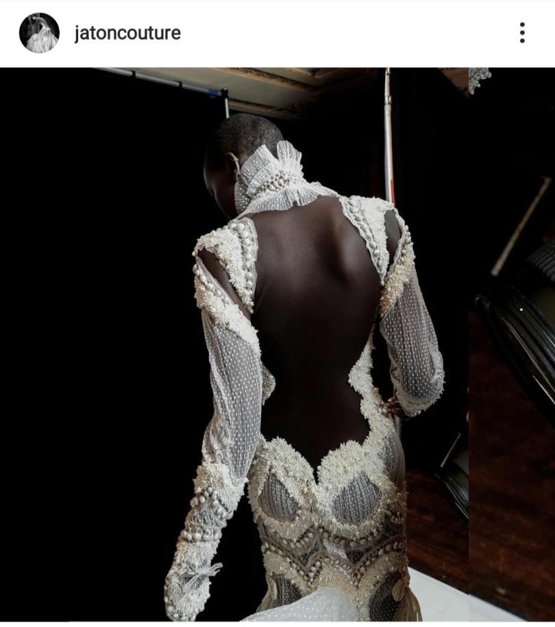 black bridal designers