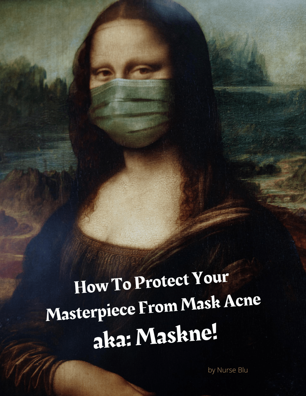 Why your face mask is causing acne.