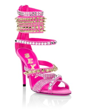 Philipp Plein pink sexy sandal