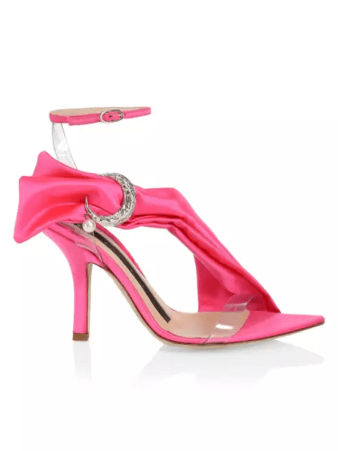 Midnight00 Miss Embellished pink sandal