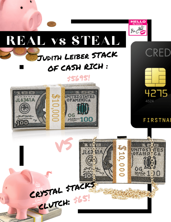 REAL vs STEAL: Judith Leiber vs Ms. Heel