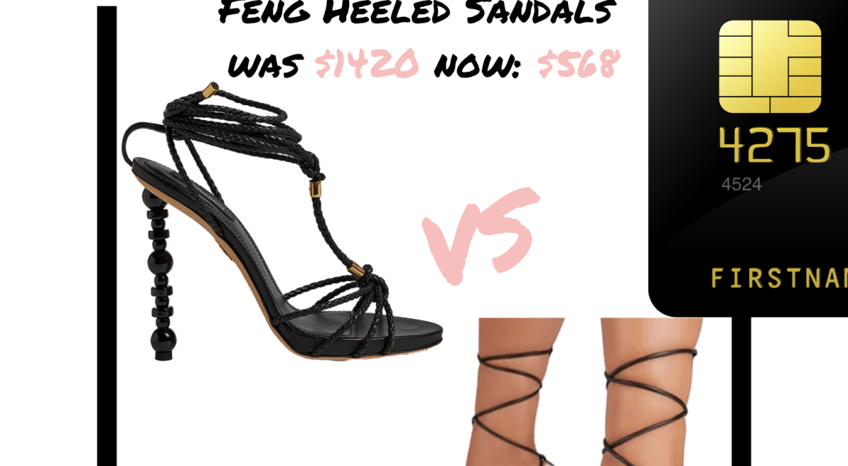 real vs steal: Dsquared2 vs The Glambian