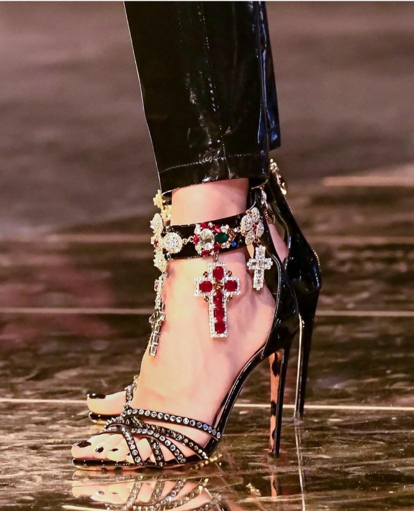 Philipp Plein f/w 20 runway heels