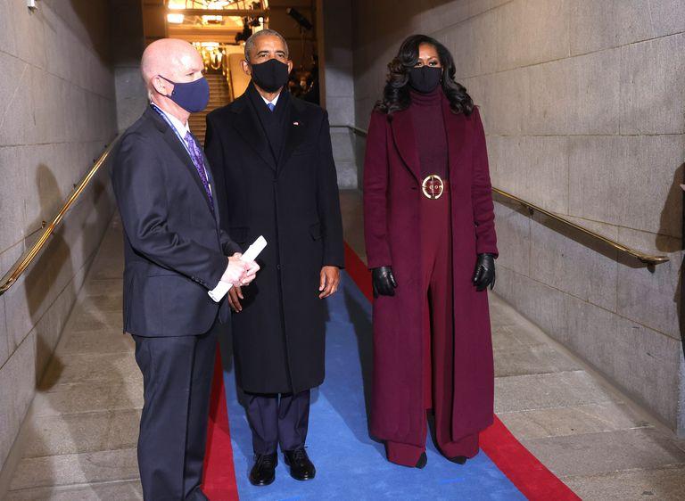 Michelle Obama shut it down at this year's inauguration of Joe Biden