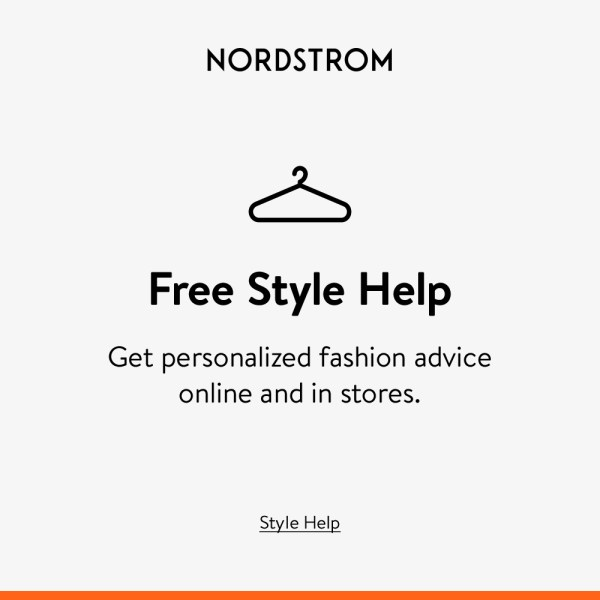 Free style help form Nordstroms