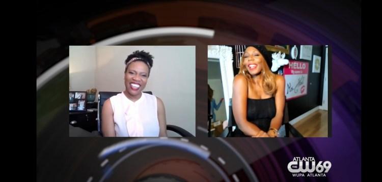 Editor in Chief, Velicia Hill's interview on CW69 Focus Atlanta.