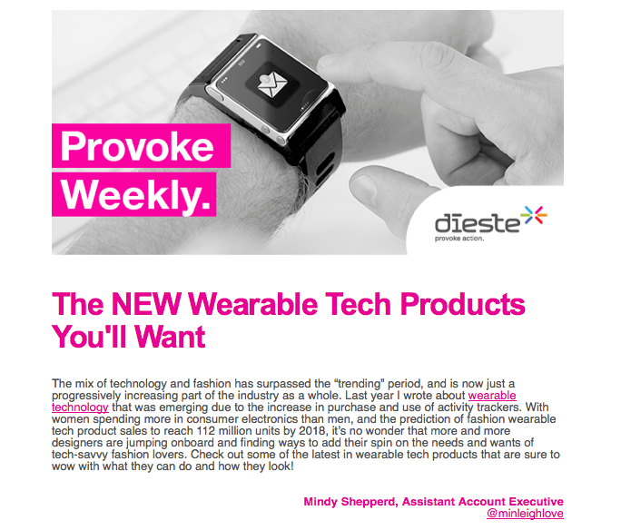 Poppin' Products in This Week's Provoke! (1/3)