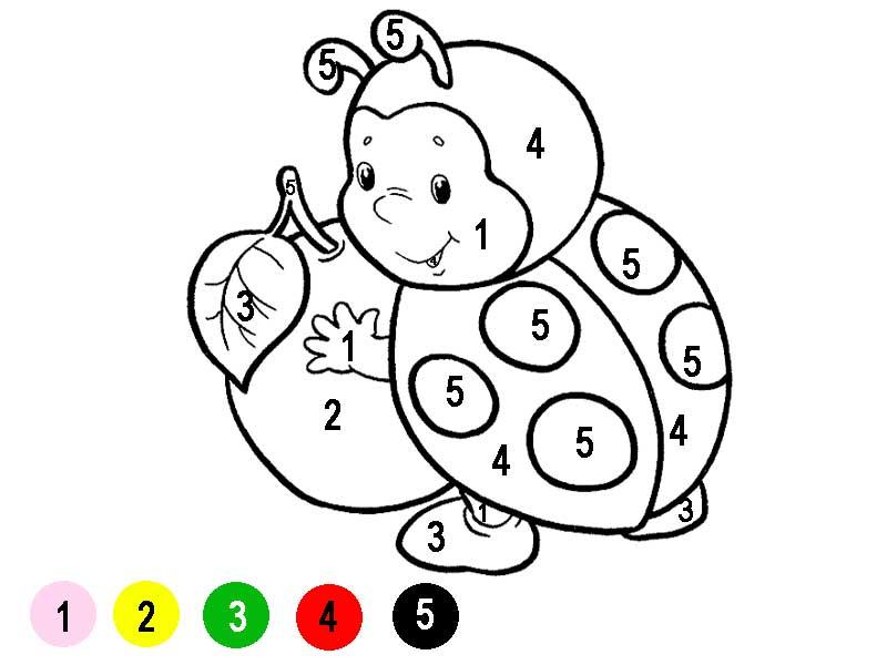 3 д Игры простые раскраски 136