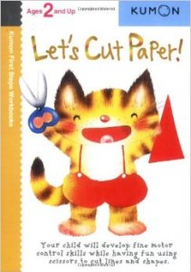 KUMON_2 and Up_Let's Cut Paper
